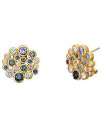 Gurhan Pointelle 22k 4.12 Ct. Tw. Diamond & Gemstone Earrings - Metallic