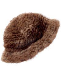 La Fiorentina Bucket Hat - Brown