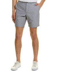 Original Penguin Dobby Oxford Shorts - Blue