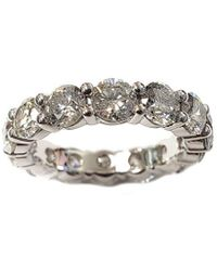 Diana M. Jewels . Fine Jewellery 14k 4.15 Ct. Tw. Diamond Wedding Ring - Metallic