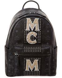 MCM - Stark Logo Visetos Backpack - Lyst
