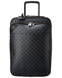 Louis Vuitton Damier Graphite Canvas Pegase Legere Buis 55 - Black