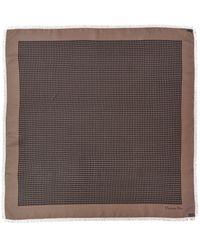 Dior Silk Scarf - Gray