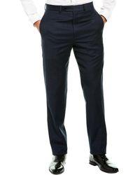 Brooks Brothers Regent Fit Wool-blend Pant - Blue