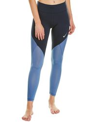 Nike Epic Lux 7/8 Running Tights - Blue