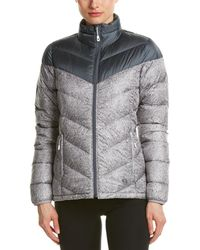 Mountain Hardwear Ratio Printed Down Jacket - Gray