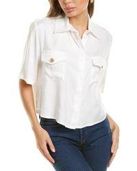 Chiara Ferragni Boxy Shirt - White