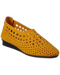 Arche Nirick Suede Flat - Orange