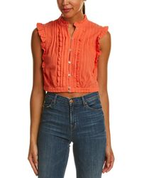 Plenty by Tracy Reese Crop Top - Multicolour