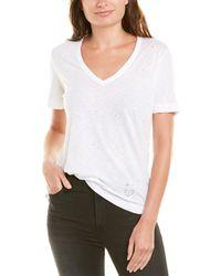 Zadig & Voltaire Wassa Holes T-shirt - White