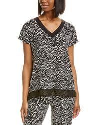 Donna Karan Sleepwear Pyjama Top - Black