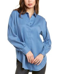 Thakoon Oversized Button-down Top - Blue