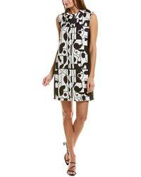 Marella Caramba Shift Dress - White