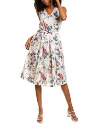 Max Mara Studio Midas A-line Dress - Multicolor