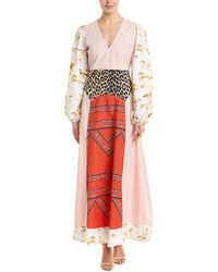 Ganni Sweeny Maxi Dress - Pink