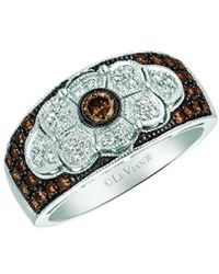 Le Vian ? Chocolatier? 14k Vanilla Gold? 0.65 Ct. Tw. Diamond Ring - Metallic