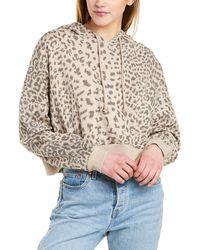 Dance & Marvel Leopard Hoodie - Brown