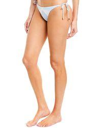 ViX - Wave Tie Cheeky Bikini Bottom - Lyst