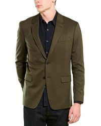 Theory Wool-blend Sportcoat - Green