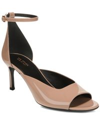 Via Spiga - Women's Jennie Patent Leather Mid-heel Sandals - Lyst