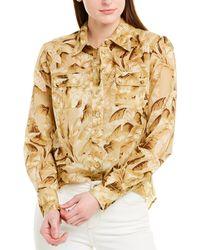 Zimmermann Super Eight Safari Shirt - Natural