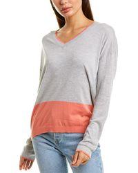 Bobi Boyfriend Sweater - Gray