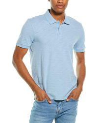 Vince Classic Polo Shirt - Blue