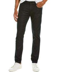 7 For All Mankind 7 For All Mankind Paxtyn Bastille Coated Skinny Leg - Gray