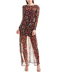 Finders Keepers Finderskeepers Maya Maxi Dress - Blue