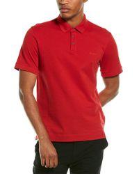 Z Zegna Z Zenga Polo Shirt - Red