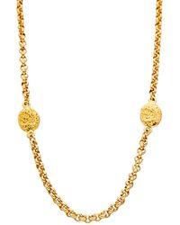 Chanel Gold-tone Cc Necklace - Metallic
