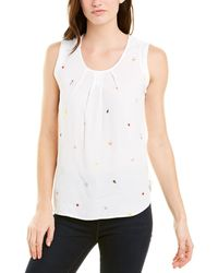 Joules Top - White
