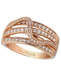 Le Vian ? 14k Strawberry Gold? 0.66 Ct. Tw. Diamond Ring - Metallic