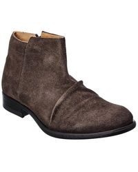 Fly London Mobe Suede Boot - Gray