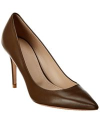 Theory City Leather Pump - Green