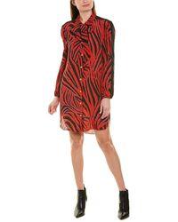 ESCADA Sport Silk-blend Shirtdress - Red