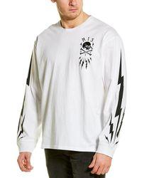 R13 Skull Bolt T-shirt - White