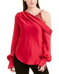 Jonathan Simkhai Dropped-shoulder Blouse - Pink