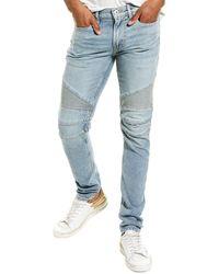 Hudson Jeans Ethan Biker Malawi Skinny Leg Jean - Blue