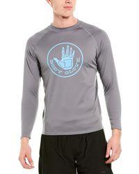 Body Glove Fitted Rashguard - Grey