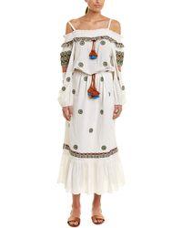 Figue Helena Maxi Dress - White