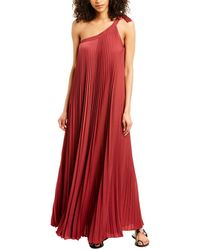 BCBGMAXAZRIA Eve Maxi Dress - Red