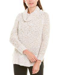Krimson Klover Fireside Wool-blend Jumper - White