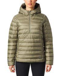Mountain Hardwear Rhea Ridge Pullover Down Jacket - Green
