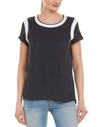 975e8162 Rag & Bone Bye Cotton T-shirt in Gray - Lyst