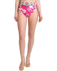 Nanette Lepore - Lily High Waist Bikini Bottom - Lyst