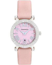 Tiffany & Co. 2000s Atlas Watch - Pink