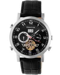 Heritor Men's Edmond Watch - Multicolour