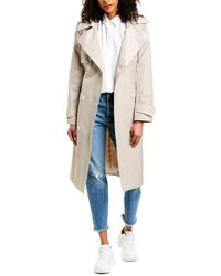 French Connection Double-breasted Trench Coat - Brown