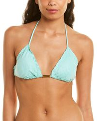 ViX Ripple Bikini Top - Blue